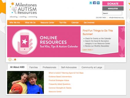 Milestones Autism Resources